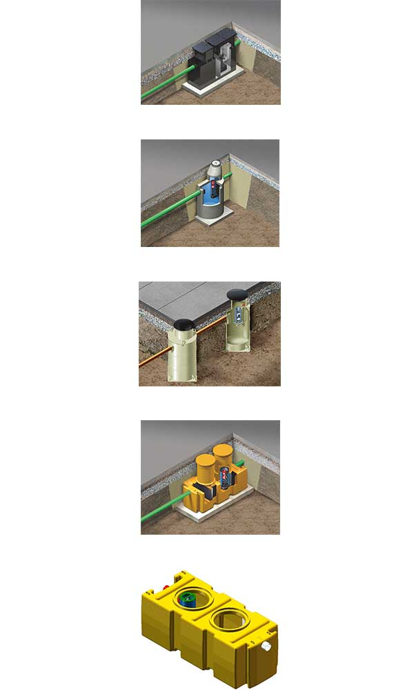 separatorji izbrani materiali