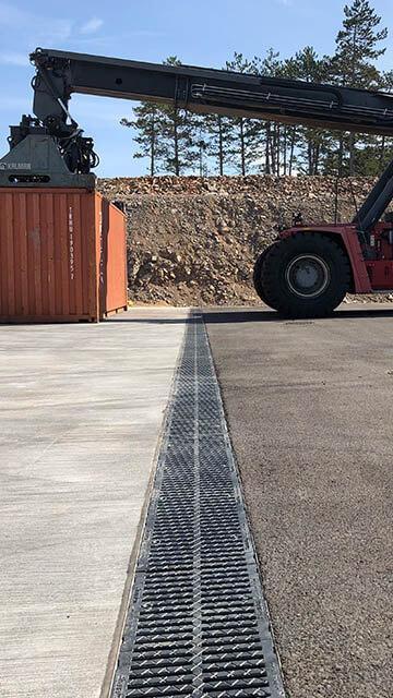 Odpornost betonskih kanalet